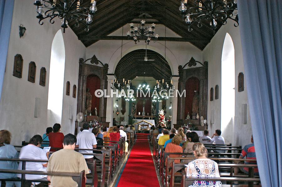 Missa na Igreja em Laguna. Santa Catarina. 2005. Foto de Thais Falcão.