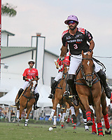 WELLINGTON, FL - MARCH 12:  Facundo Pieres of Orchard Hill scores a goal as Orchard Hill defeats Audi 9-8, in the early rounds of the 26 goal USPA Gold Cup at the International Polo Club, Palm Beach on March 12, 2017 in Wellington, Florida. (Photo by Liz Lamont/Eclipse Sportswire/Getty Images)