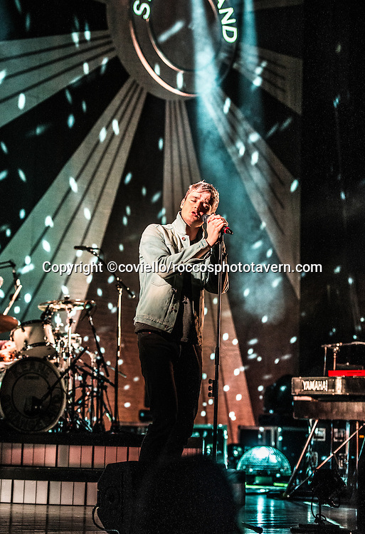 Keane performing at The State Theater in Portland Maine.