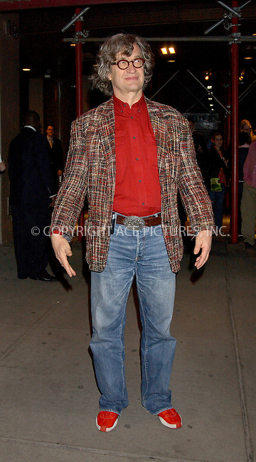"WWW.ACEPIXS.COM . . . . . ....NEW YORK, MARCH 9, 2006....Wim Wenders at the New York Premiere Of ""Don't Come Knocking""....Please byline: KRISTIN CALLAHAN - ACEPIXS.COM.. . . . . . ..Ace Pictures, Inc:  ..Philip Vaughan (212) 243-8787 or (646) 679 0430..e-mail: info@acepixs.com..web: http://www.acepixs.com"