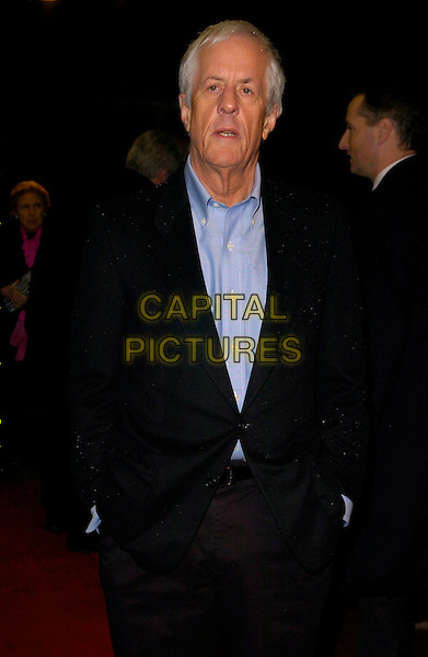 "MICHAEL APTED.At the UK Premiere of ""Amazing Grace"",.Curzon Mayfair Cinema, London, England,.March 19th 2007..half length blue shirt suit.©Can Nguyen/Capital Pictures"