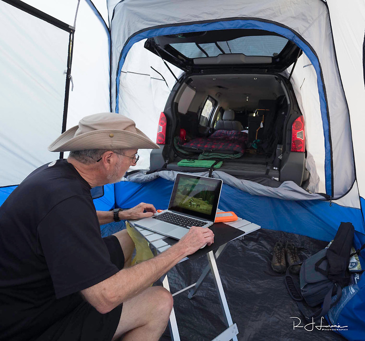 October 8 thru October 21, 2017 / Cross country Trip to Yellowstone National Park in Yellowstone, Wyoming / shown:  Car Camping photos /   Stops in Laramie, Jackson, Yellowstone with travels thru Pennsylvania, Ohio, Indiana, South Dakota, Wyomikng, Montana, Nothr Dakota, Missouri, Minnosota, and Illanois.