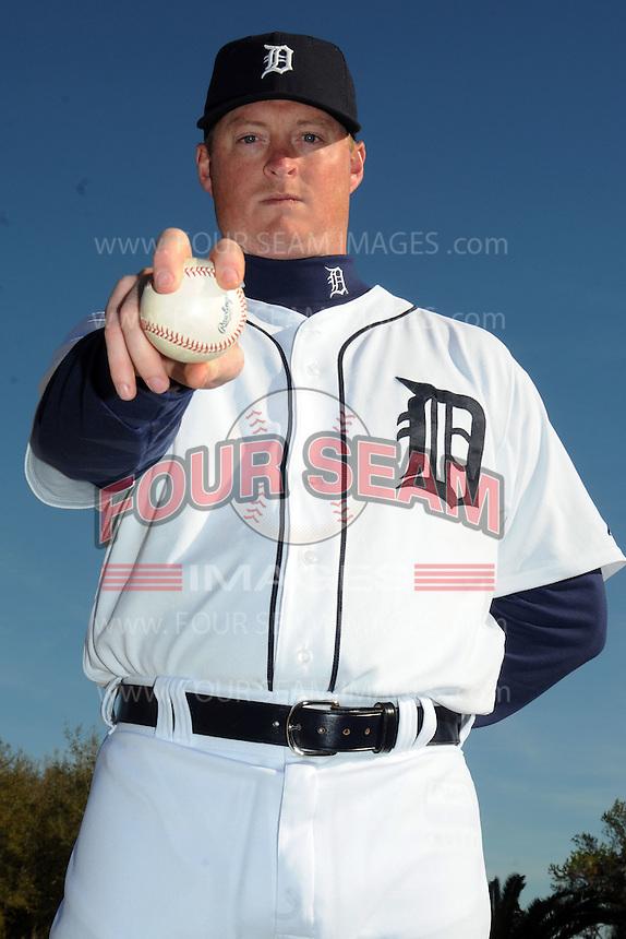 Feb 21, 2009; Lakeland, FL, USA; The Detroit Tigers pitcher Jeremy Bonderman (38) during photoday at Tigertown. Mandatory Credit: Tomasso De Rosa/ Four Seam Images