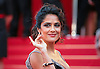 "Cannes,19.05.2012: SALMA HAYEK.at the 65th Cannes International Film Festival..Mandatory Credit Photos: ©Traverso-Photofile/NEWSPIX INTERNATIONAL..**ALL FEES PAYABLE TO: ""NEWSPIX INTERNATIONAL""**..PHOTO CREDIT MANDATORY!!: NEWSPIX INTERNATIONAL(Failure to credit will incur a surcharge of 100% of reproduction fees)..IMMEDIATE CONFIRMATION OF USAGE REQUIRED:.Newspix International, 31 Chinnery Hill, Bishop's Stortford, ENGLAND CM23 3PS.Tel:+441279 324672  ; Fax: +441279656877.Mobile:  0777568 1153.e-mail: info@newspixinternational.co.uk"