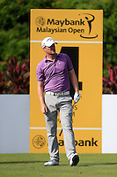 Mark Warren (SCO) on the 4th tee during Round 3 of the Maybank Malaysian Open at the Kuala Lumpur Golf & Country Club on Saturday 7th February 2015.<br /> Picture:  Thos Caffrey / www.golffile.ie