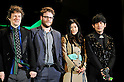 "Seth Rogen, Michel Gondry, Ryoko Shinohara, and Jay Chou, Jan 20 2011 : (L-R)Director Michel Gondry, actor Seth Rogen, Japanese actress Ryoko Shinohara and Taiwanese actor Jay Chou attend the Japan premiere for the film ""Green hornet"" in Tokyo, Japan, on January 20, 2011."