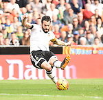 Valencia CF's    Alvaro Negredo   during La Liga match. January 31, 2016. (ALTERPHOTOS/Javier Comos)