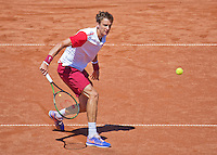 Netherlands, The Hague, Juli 21, 2015, Tennis,  Sport1 Open, Andrey Kuznetsov (RUS)<br /> Photo: Tennisimages/Henk Koster