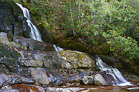 Laurel Falls, Located in The Great Smoky Mountains National Park, Tennessee.