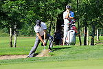 Scott Jamieson (SCO) chips out of a bunker at the 4th green during Day 3 of the BMW Italian Open at Royal Park I Roveri, Turin, Italy, 11th June 2011 (Photo Eoin Clarke/Golffile 2011)