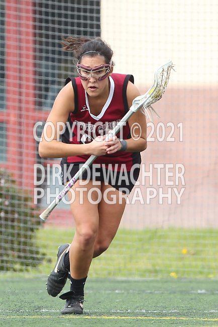 Santa Barbara, CA 02/18/12 - Maria Pestana (Santa Clara #25) in action during the Santa Clara-Arizona game at the 2012 Santa Barbara Shootout.  Santa Clara defeated Arizona 18-9.