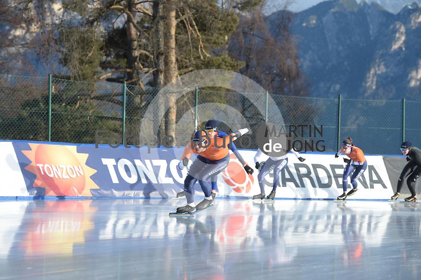 SPEED SKATING: COLLALBO: Arena Ritten, 10-01-2019, ISU European Speed Skating Championships, Kai Verbij (NED), ©photo Martin de Jong
