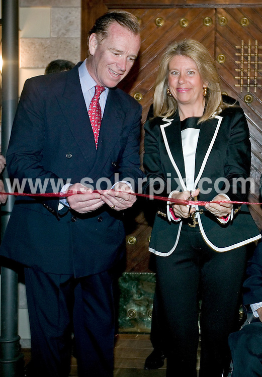 "**ALL ROUND PICTURES FROM SOLARPIX.COM**.**WORLDWIDE SYNDICATION RIGHTS**.Major James Hewitt entertains friends and associates at the opening of his new restaurant ""Polo House"" in Marbella, Spain. 2 April 2009.This pic: Major James Hewitt and Mari Angeles Munoz (Mayoress of Marbella)..JOB REF: 8764 MTN     DATE: 02_04_2009.**MUST CREDIT SOLARPIX.COM OR DOUBLE FEE WILL BE CHARGED**.**ONLINE USAGE FEE GBP 50.00 PER PICTURE - NOTIFICATION OF USAGE TO PHOTO @ SOLARPIX.COM**.**CALL SOLARPIX : +34 952 811 768 or LOW RATE FROM UK 0844 617 7637**"