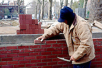 BRICK WALL UNDER CONSTRUCTION<br />