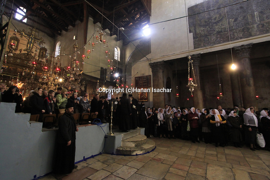 Bethlehem, Christmas at the Church of the Nativity