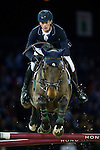 Daniel Deusser on Hidalgo V. competes during Longines Speed Challenge at the Longines Masters of Hong Kong on 20 February 2016 at the Asia World Expo in Hong Kong, China. Photo by Juan Manuel Serrano / Power Sport Images