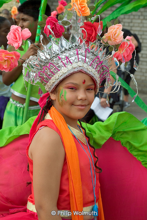 Children's Day at Notting Hill Carnival, London