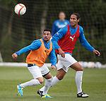 Nacho Novo and Bilel Mohsni