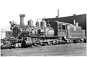 D&amp;RGW #375 in Durango.  Renumbered from D&amp;RGW #432.<br /> D&amp;RGW  Durango, CO  ca 1930
