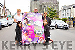 Members of the Cahersiveen Festival of Music & the Arts on the final count down with a launch night on Thursday 20th July pictured front l-r; Janette Murphy(PRO), Caroline O'Connell(Fundraising Officer), back l-r; Ann Landers(Treasurer), Hugh Horgan(Chairman) & Breda O'Shea(Secretary).