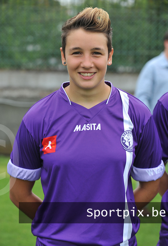Beerschot AC Dames : Charlotte Andries.foto DAVID CATRY / Vrouwenteam.be