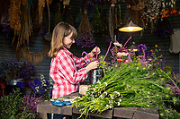 Business is blooming - A 500% rise in bouquet sales has family business in full flower.