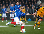 Robbie Crawford scotres goal no 2 for Rangers