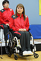 Kimie Bessho (JPN), <br /> JULY 22, 2016 - Table Tennis : <br /> Japan national team press conference <br /> for Rio Olympic Games 2016 &amp; Paralympic Games <br /> at Ajinomoto National Training Center, Tokyo, Japan. <br /> (Photo by YUTAKA/AFLO SPORT)
