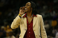 27 March 2006: Charmin Smith during Stanford's 62-59 loss to LSU during the NCAA Women's Basketball tournament Elite Eight round in San Antonio, TX.