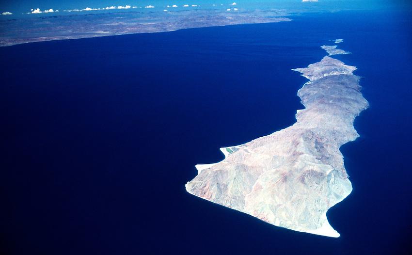 San Lorenzo Island.in the Sea of Cortez Mid-fiff