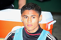 Andy Najar #14 of D.C. United during an MLS match against the New England Revolution on April 3 2010, at RFK Stadium in Washington D.C.