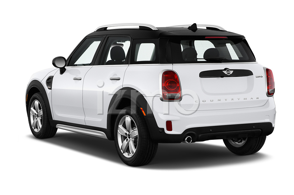 Car pictures of rear three quarter view of 2019 MINI Countryman 5-Door 5 Door Hatchback Angular Rear