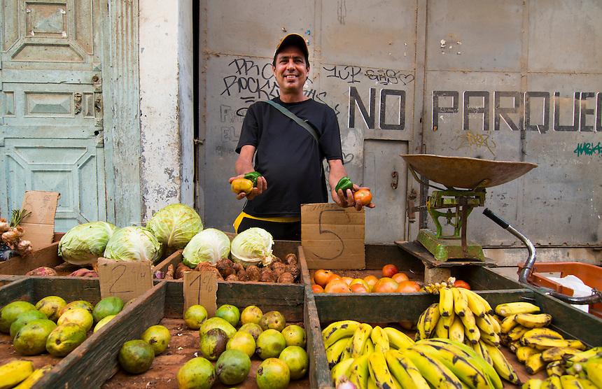 Cuba Havana Habana locals eating at Jardin del Oriente restaurant in Old Havana