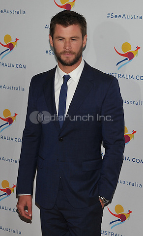 New York,NY-JANUARY 25:  Chris Hemsworth attend the 'There's Nothing Like Australia' Campaign Launch at Celsius at Bryant Park on January 25, 2016 in New York City. Credit: John Palmer/MediaPunch