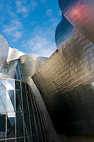 Guggenheim Museum. Bilbao travel assignment National Geographic Traveler en Español. Bilbao, Spain, December 2008