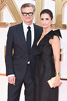 Colin and Livia Firth<br /> arriving for the &quot;Kingsman: The Golden Circle&quot; World premiere at the Odeon and Cineworld Leicester Square, London<br /> <br /> <br /> &copy;Ash Knotek  D3309  18/09/2017