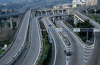 Tangenziale Highway, Naples, Italy.