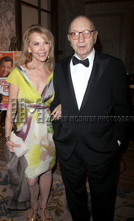 """Elaine Joyce & Neil Simon attending the After Party for the Opening Night Broadway performance  for """"PROMISES, PROMISES"""" at the Plaza Hotel, New York City.<br />April 25, 2010"""