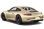 Rear three quarter view of a 2012 Porsche Carrera S Coupe