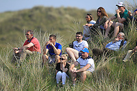 Supporters at the 14th during Round 4 of the East of Ireland Amateur Open Championship sponsored by City North Hotel at Co. Louth Golf club in Baltray on Monday 6th June 2016.<br /> Photo by: Golffile   Thos Caffrey