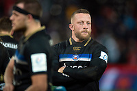 Max Lahiff of Bath Rugby looks dejected after the match. Heineken Champions Cup match, between Stade Toulousain and Bath Rugby on January 20, 2019 at the Stade Ernest Wallon in Toulouse, France. Photo by: Patrick Khachfe / Onside Images