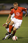 1 November 2006: Clemson's Mark Buchholz (13). Virginia defeated Clemson 2-0 at the Maryland Soccerplex in Germantown, Maryland in an Atlantic Coast Conference college soccer tournament quarterfinal game.
