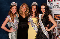 A quartet of Miss Mansfields - from left, newly crowned Grace Turner, contest Organiser and 1989 winner Tricia Mapletoft, outgoing title holder Alice Kurylo and Alicia Caley from 2011