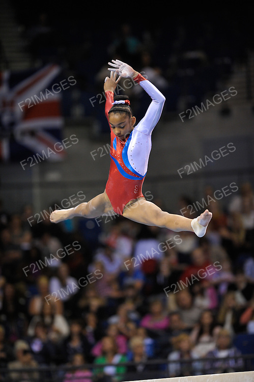 Individual Apparatus  Championships 24.6.12.Echo Arena Liverpool. UK.Jade Stedford