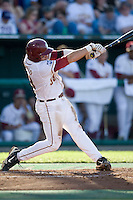 Florida State's Cardullo, Stephen 2380.jpg against TCU at the College World Series on June 23rd, 2010 at Rosenblatt Stadium in Omaha, Nebraska.  (Photo by Andrew Woolley / Four Seam Images)
