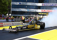 30 May - 1 June, 2014, Englishtown, New Jersey USA Richie Crampton, Geico, Lucas Oil, top fuel dragster @2014, Mark J. Rebilas