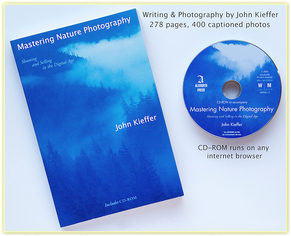 "Mastering Nature Photography."" John's 3rd book: John has photographed just about every wild place in the western USA. In addition to photographic advice, John discusses how to safely travel in the mountains, desserts and canyons, and along the coast.<br />