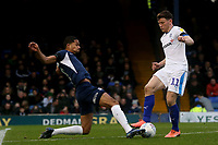 Connor Jennings of Tranmere Rovers and Timothee Dieng of Southend United during Southend United vs Tranmere Rovers, Sky Bet EFL League 1 Football at Roots Hall on 11th January 2020