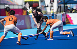 Wales Jo Westwood in action during todays event<br /> <br /> *This image must be credited to Ian Cook Sportingwales and can only be used in conjunction with this event only*<br /> <br /> 21st Commonwealth Games - Wales v Malaysia - Hockey-  Day 7 - 11\04\2018 - Gold Coast Hockey Centre - Gold Coast City - Australia