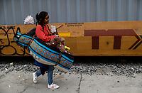 """Los infantes y mujeres son  considerados el grupo mas vulnerable en la travesía  de la Caravana del Migrante que recorre mexico.<br /> <br /> La Caravana del Migrante conformada por un contingente de 600 personas su mayoría de origen centroamericano, arribaron a Hermosillo a bordo del tren conocido como """"La Bestia"""", provienen de la frontera Sur del País y con rumbo a la ciudad de Mexicali donde continuaran el viaje hasta Tijuana.<br /> La caravana tiene como objetivo solicitar <br /> asilo a Estados Unidos y algunos integrantes piensan solicitar una visa humanitaria en Mexico para laborar en los campos de Sonora y Baja California.<br /> (Photo: nortePhoto/Luis Gutierrez)"""